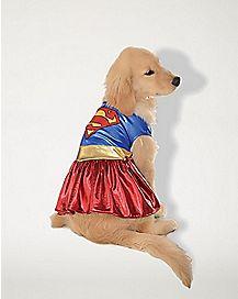 Supergirl Dog Costume - DC Comics