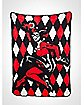Batman Harley Quinn Fleece Blanket