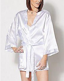 Bride Robe and Slip Set