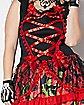 Adult Senorita Day of the Dead Plus Size Costume