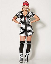 Adult My Game My Rules Ref Costume