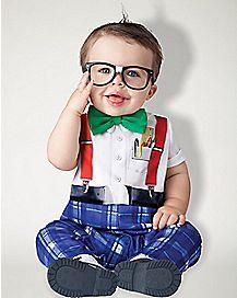 Baby Nursery School Nerd Costume