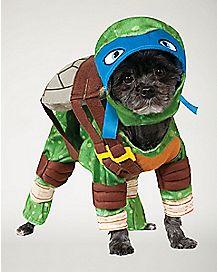 Leonardo Dog Costume - TMNT