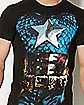 Sublimated Captain America Costume Tee