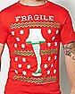 Fragile Leg Lamp A Christmas Story T shirt
