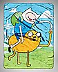 Adventure Time Fist Pump Fleece Blanket