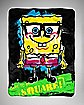 SpongeBob Nerd Fleece Blanket
