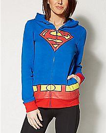 Junior Superman Hoodie - DC Comics