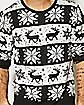 Adult Snow Drift Ugly Christmas Sweater