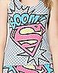 Supergirl Tank Top and Panties Set - DC Comics
