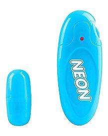Neon Mega Bullet Vibrator - 2.25 Inch Blue