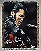 Leather '68 Elvis Tapestry Throw Blanket