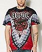Cannon V-Dye ACDC T shirt