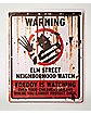Elm St. Neighborhood Watch Sign Decorations - Nightmare on Elm Street