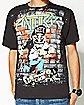 Anthrax Skater Guy T shirt