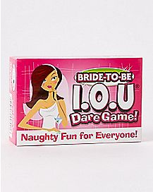 I.O.U Dare Bachelorette Card Game