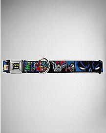 Batman & Joker Dog Collar - DC Comics
