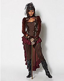Adult Victorian Steampunk Costume