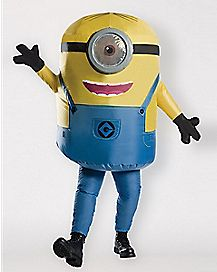 Adult Minions Stuart Inflatable Costume - Despicable Me