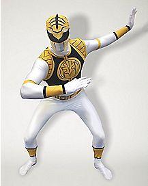 Adult White Ranger Costume - Power Rangers