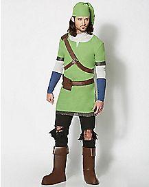 Adult Link Costume Deluxe - Legend of Zelda