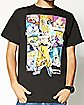 Collage Character Dragon Ball Z T shirt