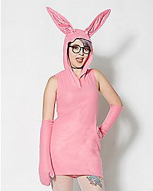 Adult Bunny Dress Costume - A Christmas Story