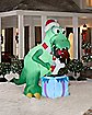7.5 Ft Holiday T-Rex Inflatable - Decoration