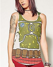Hooded Boba Fett Tank Top - Star Wars
