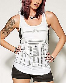 Hooded Stormtrooper Tank Top - Star Wars