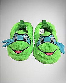 TMNT Leonardo Baby Slippers