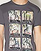 Lineup Arkham City Villains T Shirt - DC Comics