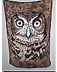 Owl Face Fleece Blanket