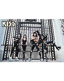 Gates Kiss Poster
