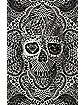 White Lace Skull Poster
