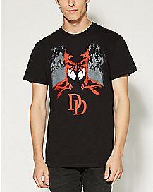 Silhouette Daredevil T shirt