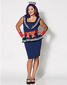 Amy Sailor Plus Size Costume