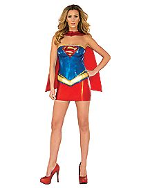 Adult Supergirl Costume Deluxe - DC Comics