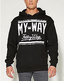 My Way Fetty Wap Hooded Sweatshirt