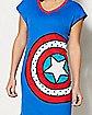 Captain America Sleep Shirt