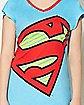 Supergirl Boyfriend Sleep Shirt