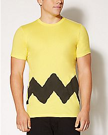 Yellow Charlie Brown T shirt