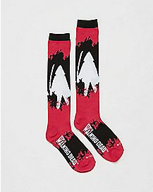 Michonne Walking Dead Knee High Socks