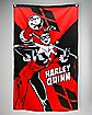 Batman Harley Quinn with Mallet Wall Banner