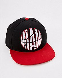Embroidered Miami Basketball Snapback Hat