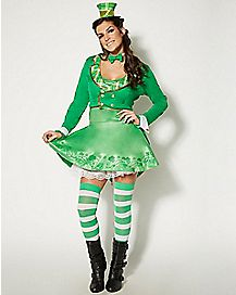 Adult Lady Leprechaun Costume