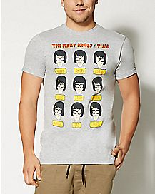 The Many Moods of Tina T Shirt - Bob's Burgers