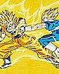 Goku Vs Vageta Dragon Ball Z Fleece Blanket