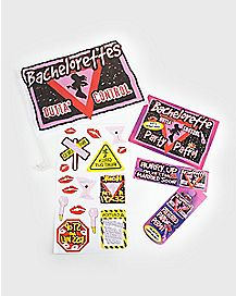 Bachelorette Car Decoration Kit