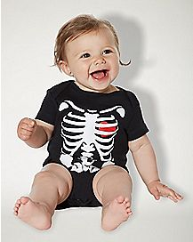 Baby Spooky Skeleton One Piece